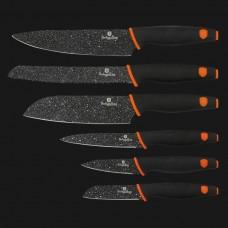 Набор из 6 ножей с мраморным покрытием, Granit Diamond Line