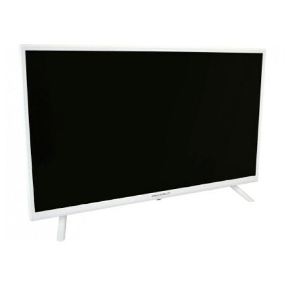 Телевизор Grunhelm GT9HD32W с белой рамкой  НОВЫЙ