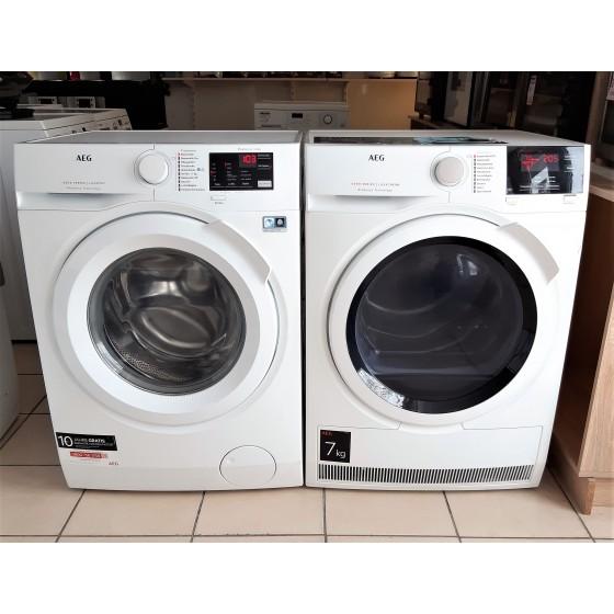 Комплект AEG: стиральная машина L6FB48FL и сушильная машина T6DB64375