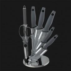Набор ножей 8 шт. с подставкой, Granit Diamond Line
