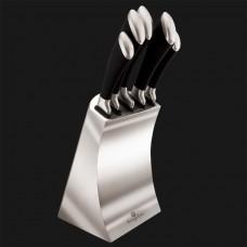 Набор из 6 ножей с подставкой из нержавеющей стали