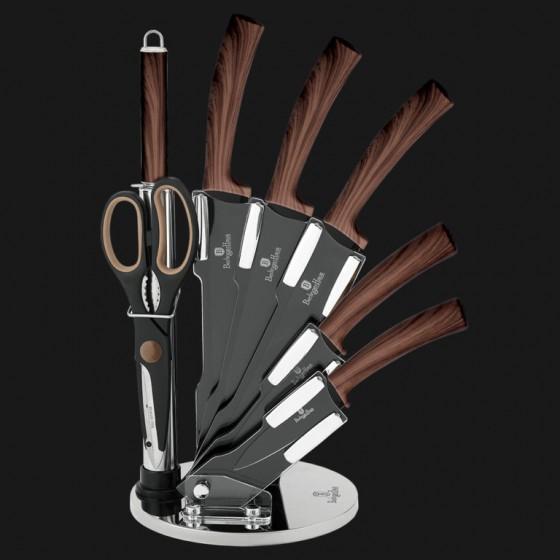 Набор из 8 ножей с подставкой,  Forest Line